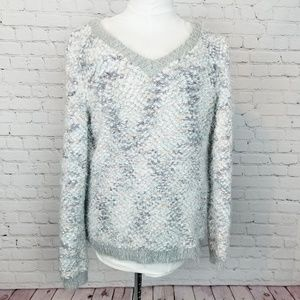 LC LaurenConrad|Bubble Knit Soft Pullover Sweater